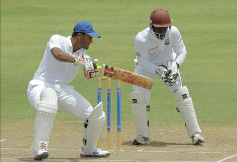 A century by Dimuth against West Indies A